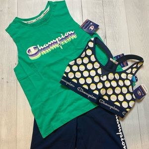 3-Piece Champion Workout Set